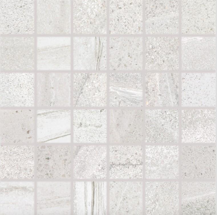 Mozaika imitace kamene RANDOM, 5 x 5 cm, Světle šedá - DDM06678