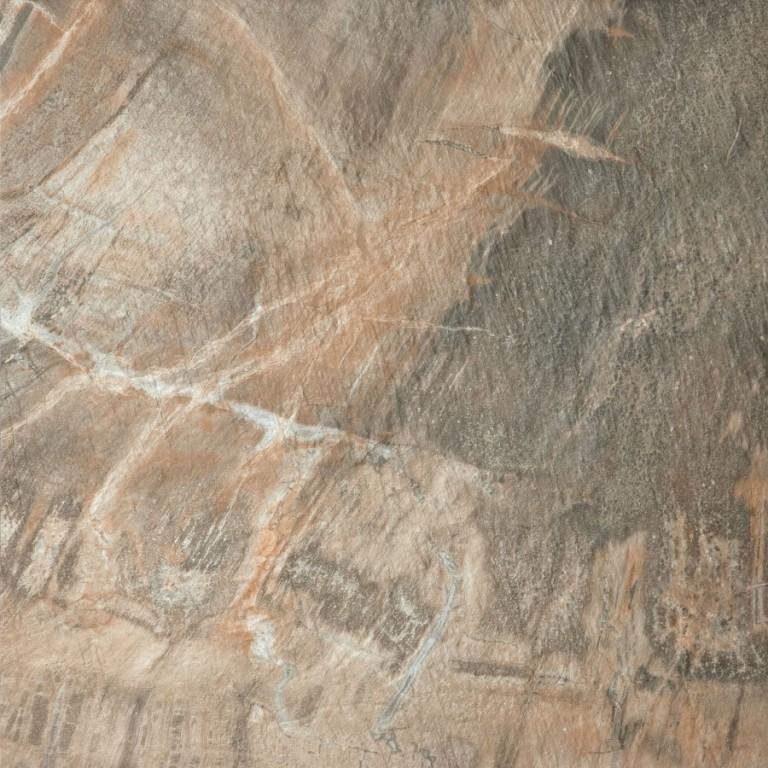 Mrazuvzdorná dlažba imitace kamene FOSSIL Brown 50 x 50 cm