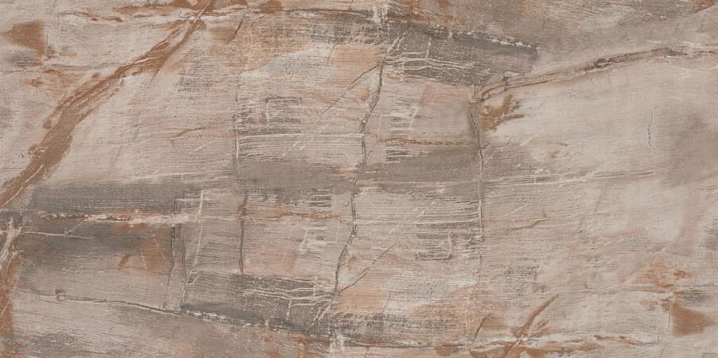 Mrazuvzdorná dlažba imitace kamene FOSSIL Brown 40 x 80 cm