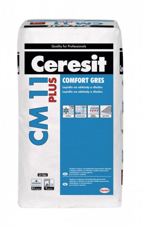 Lepidlo i k lepení nenasákavých obkladů CM 11 PLUS Comfort Gres