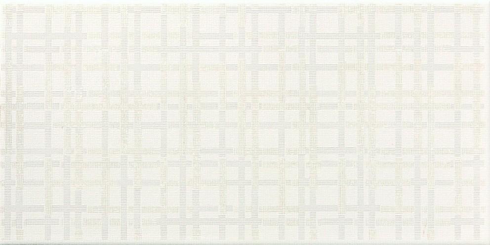 Interiérový dekor CITY 42 Line Bílý 20 x 40 cm