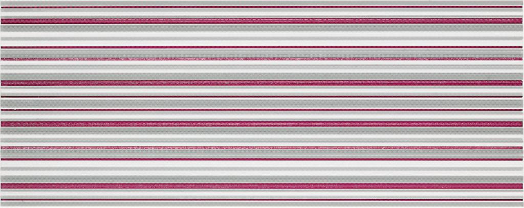 Dekor SHINE Červený 20 x 50 cm