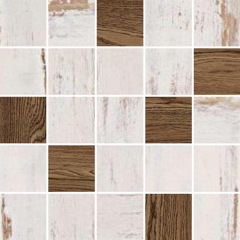 Mozaika imitace dřeva ETNIC Honey 25 x 25 cm