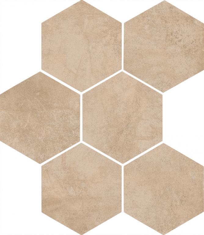 Šestiúhelníková dlažba CLAYS HEXAGON Sand