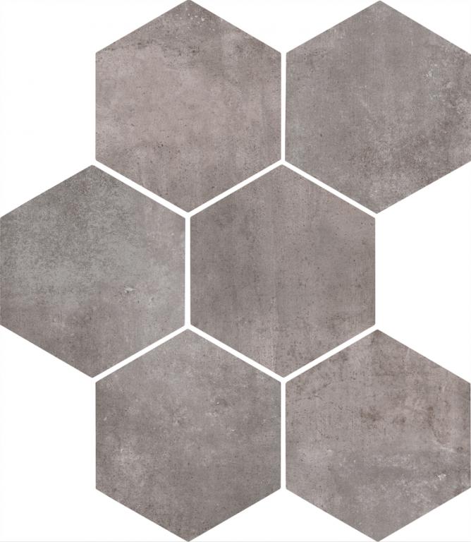 Šestiúhelníková dlažba CLAYS HEXAGON Lava