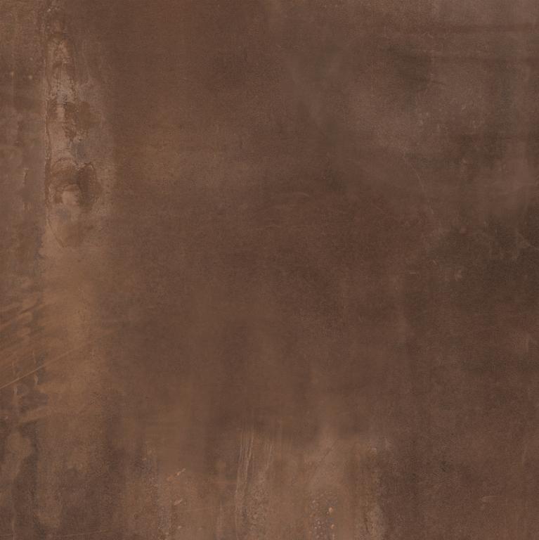 Velkoformátová metalická dlažba INTERNO Rust rett. 60 x 60 cm