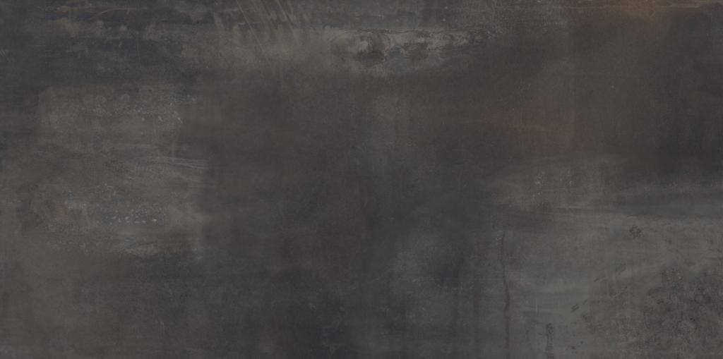 Velkoformátová metalická dlažba INTERNO Dark lapp. rett. 60 x 120 cm
