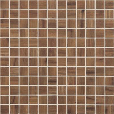 Skleněná mozaika imitace dřeva WOODS Nogal