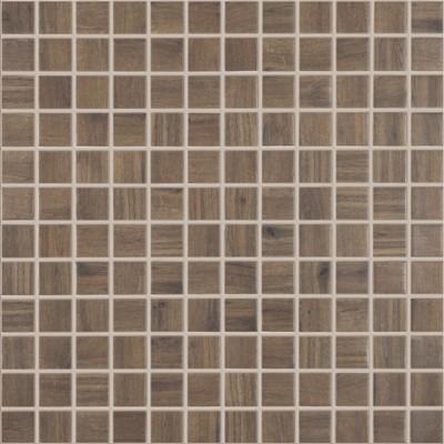 Skleněná mozaika imitace dřeva WOODS Ebano