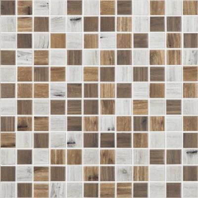 Skleněná mozaika imitace dřeva WOODS Blend