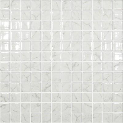 Skleněná mozaika imitace mramoru MARBLES Carrara Grey lesklá