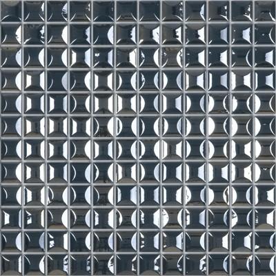 Skleněná 3D mozaika EDNA Dark Blue