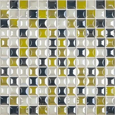 Skleněná 3D mozaika EDNA Tropical Blend