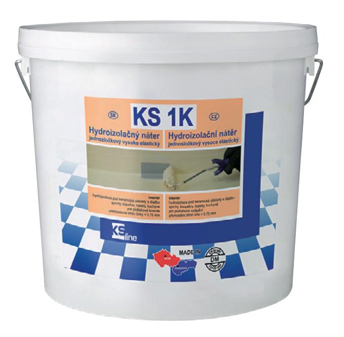 Jednosložková hydroizolace KS 1K