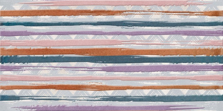 Dekor MAIOLICA Stripes 25 x 50 cm