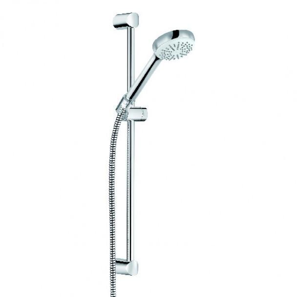 Sprchový set LOGO NEO 1S, 600 mm tyč, 1600 mm hadice, sprška