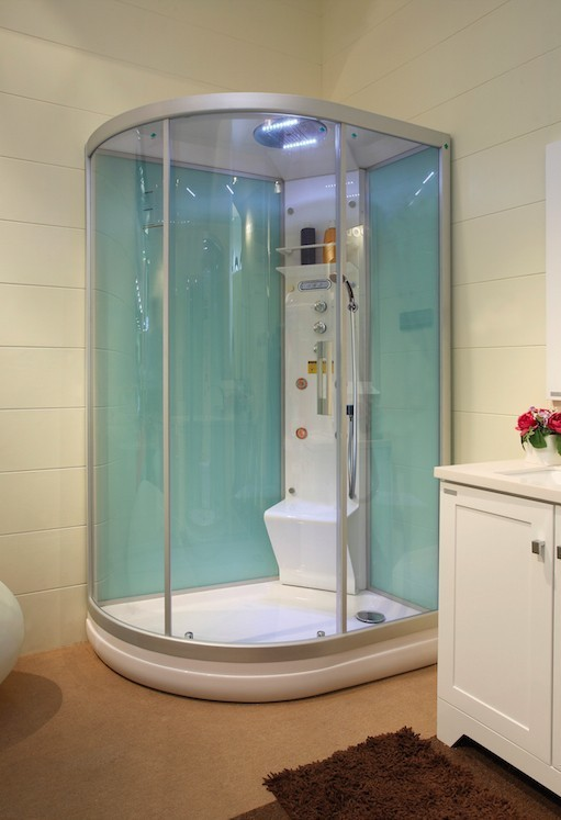 Masážní sprchový box GLASS 120 L/P