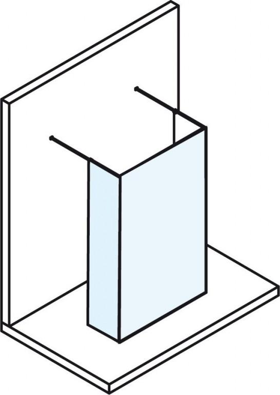 Bezdveřová sprchová zástěna MODULAR SHOWER MS110