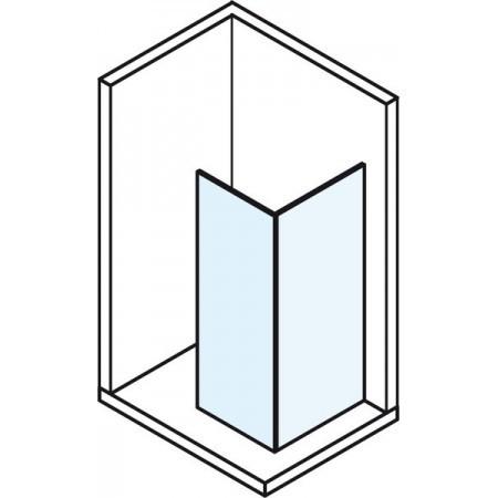 Bezdveřová sprchová zástěna MODULAR SHOWER MS120
