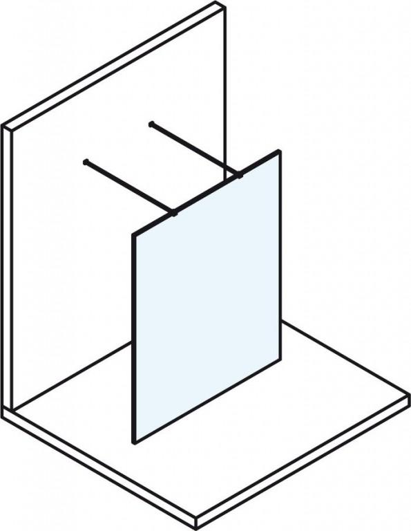 Bezdveřová sprchová zástěna MODULAR SHOWER MS160