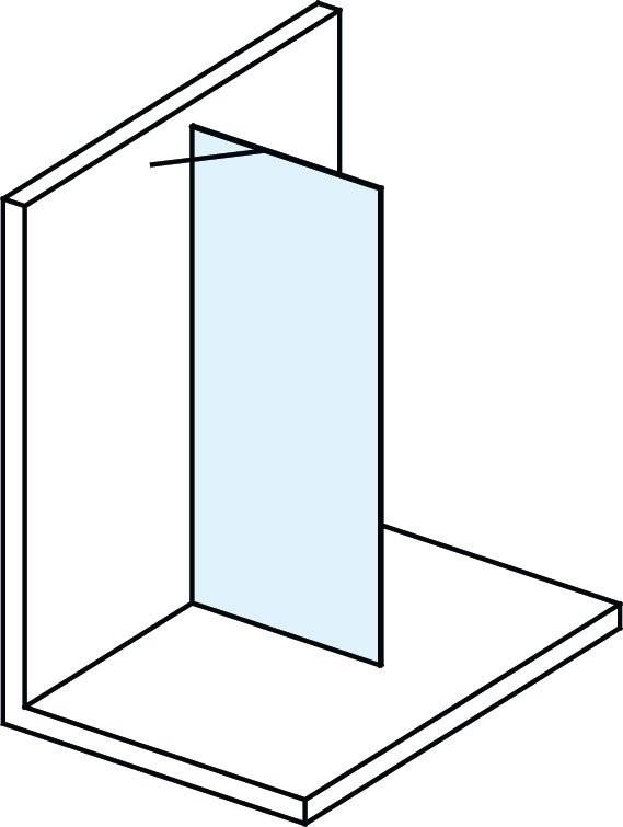 Bezdveřová sprchová zástěna MODULAR SHOWER MS170
