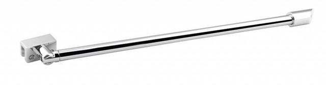 Rohová vzpěra pro sprchovou zástěnu stěna/sklo chrom