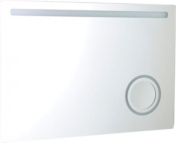 Zrcadlo s kosmetickým zrcátkem ASTRO s LED osvětlením 100 x 70 cm