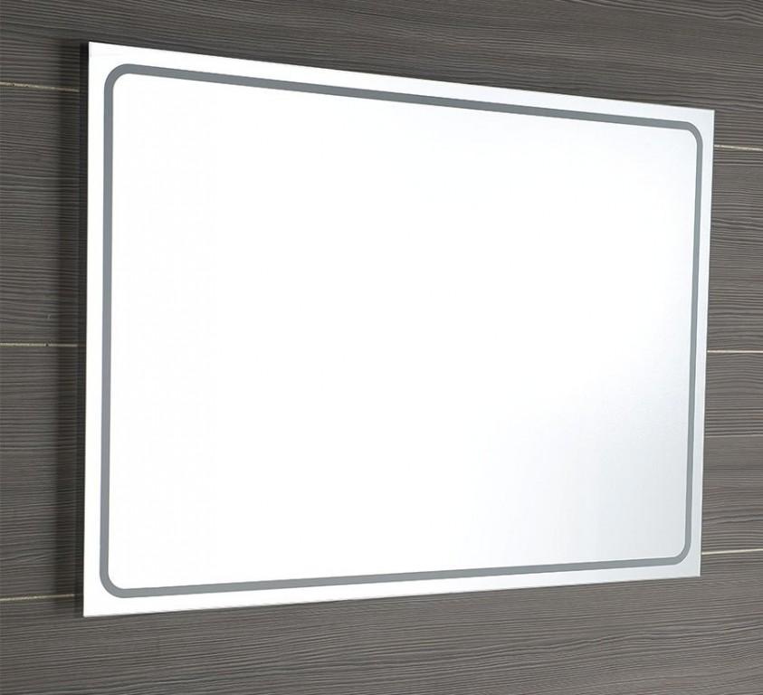 Zrcadlo s LED osvětlením GEMINI II 150 x 55 cm