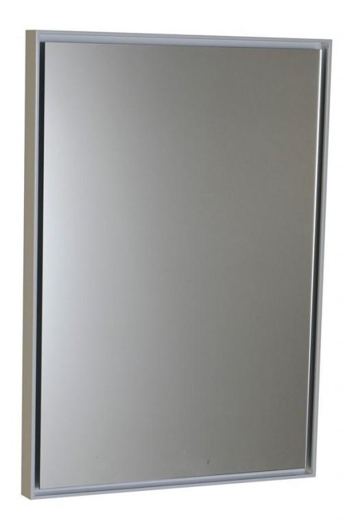 Podsvícené zrcadlo FLOAT s LED osvětlením bílá 40 x 60 cm