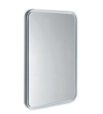 Podsvícené zrcadlo FLOAT s RGB LED osvětlením zaoblené 50 x 70 cm